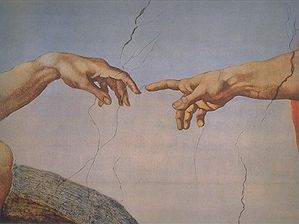 299px-Creation_of_Adam_(Michelangelo)_Detail