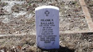 Frank Ballard Grave 002