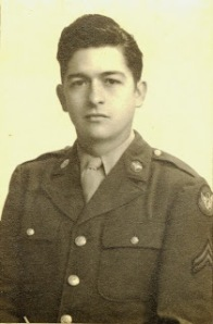 Frank Ballard, WWII photo