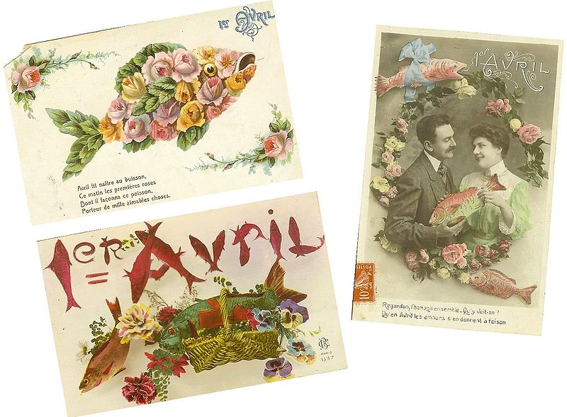 800px-Cartes_postales_poissons_d'avril