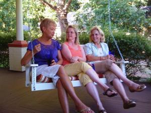 Stephanie, Sharon and Tina